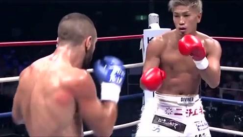 日本最炙手可热的格斗巨星:城户康裕,暴力高扫踢飞对手