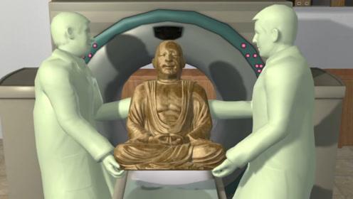 """科学家CT扫描中国千年佛像发现""""木乃伊"""",再次检查竟发现更诡异的事情"""