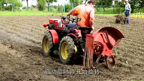老外发明挖土豆神器,轻轻松松月入过万,农民们的福利!