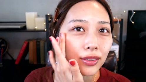 合适自己的妆容很重要,女子简单妆,又漂亮又优雅