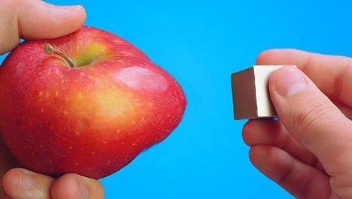 钕磁铁的磁性有多厉害?实验人员用苹果测试,看它反应知道结果了