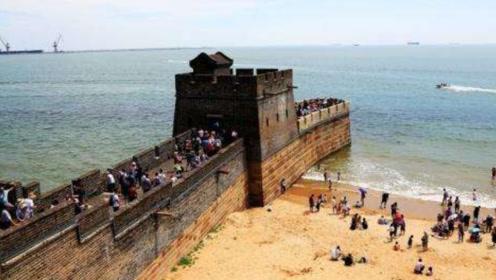 中国万里长城尽头建设在大海中?老外看后直呼:中国人很聪明
