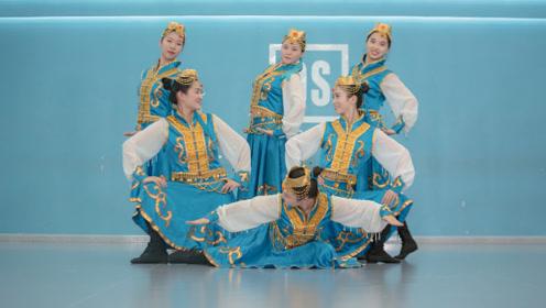 蒙古女孩骑上大雁,民族舞跳出不凡气势!