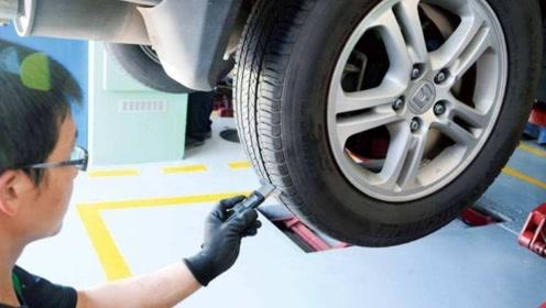汽车更换轮胎时,这个地方一定要看清楚,否则容易被骗!