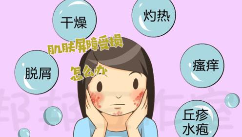 皮肤屏障受损了怎么办?学会补救方法,皮肤恢复白嫩不是梦