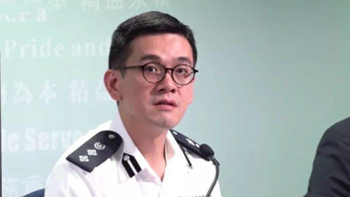 香港警方警告乱港暴徒:警方擎枪时应退后,否则后果自负