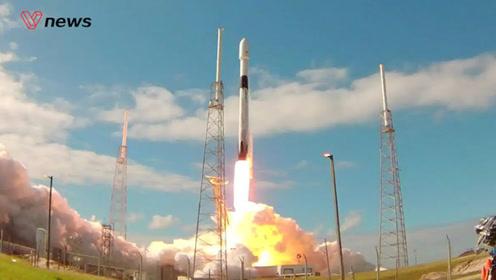"SpaceX发射第二批60颗星链卫星,猎鹰火箭实现""四复用"""