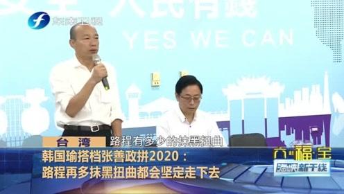 张善政任韩国瑜2020副手称只为下架蔡英文,张亚中:可补韩国瑜不足