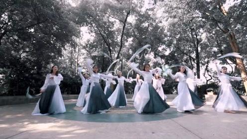 中国舞《画心》,悲伤之情可藏在心底?