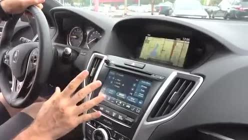 驾驶舱展示,全新一代讴歌TLX A-Spec测试
