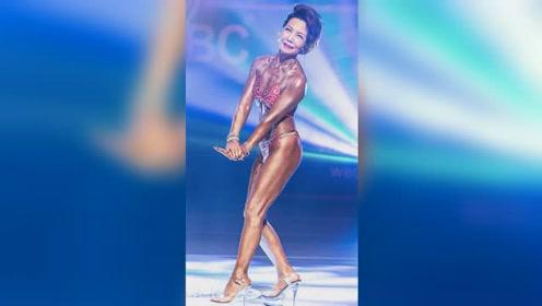 75岁健身老奶奶意外走红!一身肌肉令人大饱眼福,身材疑似逆生长!