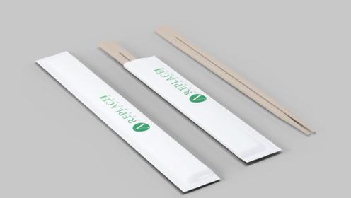 """一次性筷子""""变身记"""",这样的筷子你还敢用吗?"""