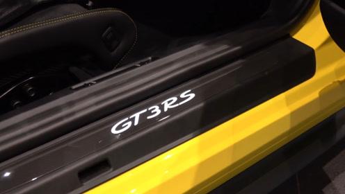 2020款保时捷GT3RS到店实拍,看完内饰很心动!