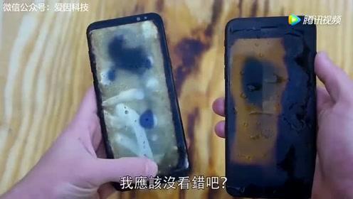 防火测试:三星S8与苹果7谁能胜出?