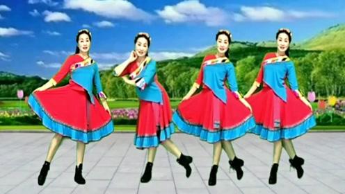 广场舞32步《最后的倾诉》简单藏舞,基础动作一看就会