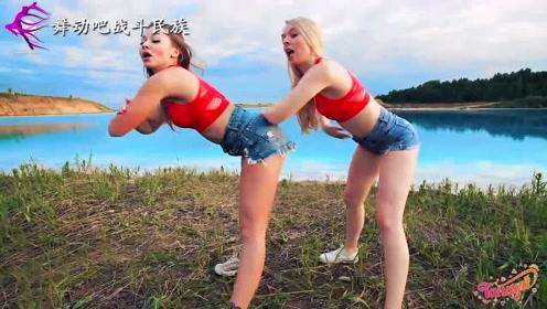 """""""欧美身板""""的姑娘跳街舞就是正宗!每一个动作都充满力量"""
