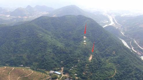 中格宝地欣赏:山环水绕有局有形,你看哪1座位置才是最好?
