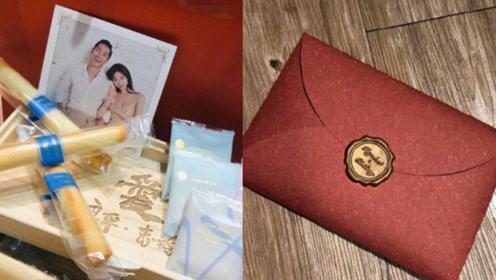 林志玲婚礼喜帖和伴手礼曝光 老爸亲笔写请帖 婚礼后定居日本
