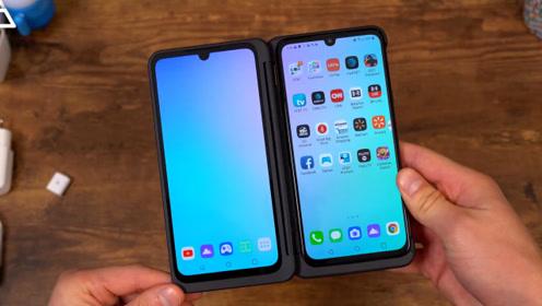 """手机厂商又出新花样,LG通过""""手机壳""""实现双屏效果"""
