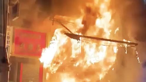 自作孽不可活!他为暴徒输送物资 暴徒一把火烧了他的店铺
