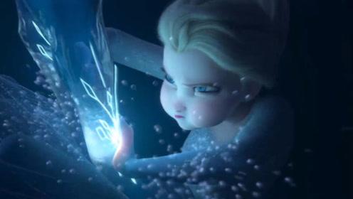 《冰雪奇缘2》艾莎泳装曝光?水下戏份身姿婀娜!