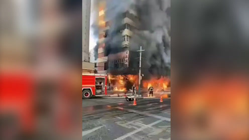 安徽蚌埠一门面房起火已致5死3伤  事故原因正在调查中