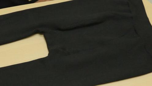 刚刚买的打底裤,不要着急穿,简单处理一下,保证不掉色不起球