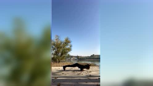 每天努力健身训练