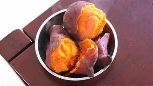 蒸红薯,记住不要直接上锅蒸,学会这个技巧,出锅比烤红薯还香甜