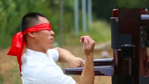 中国知名武术大师,出拳速度快如闪电,外国小伙不远千里慕名而来