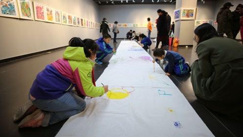 献礼新中国成立70周年——onelove青少年绘画展成功举办