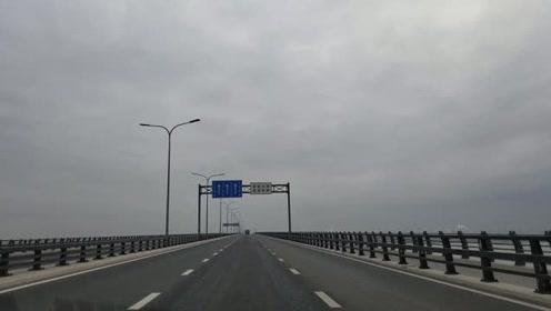 连云港的跨海大桥到底有多长?时速60跑了接近6分钟,是多少公里