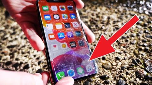透明钢化膜能保护手机不被摔坏吗?老外亲测,结果太意外了!