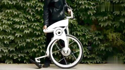 科技:各式各样的折叠自行车欣赏