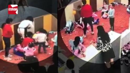 孩子游乐场玩耍起争执,俩家长竟大打出手:打人者是老师