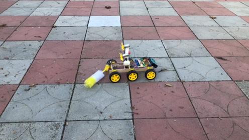 DIY扫地机器人,简单又好玩
