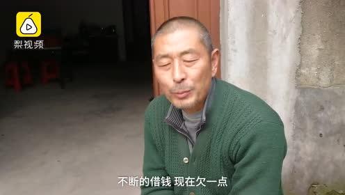 脑瘫儿子肌肉萎缩蜗居床上一年,病父不离不弃照顾