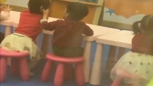 儿子上幼儿园第一天,校长发来这一段视频,这儿媳妇看来有着落了