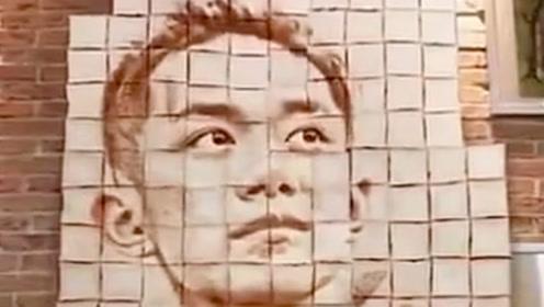 """网友用200片面包组成易烊千玺 重现""""小北""""造型"""