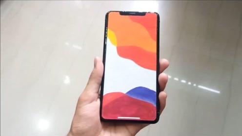 买不起最新款iphone11,小伙直接DIY一个出来,瞬间有面子了!