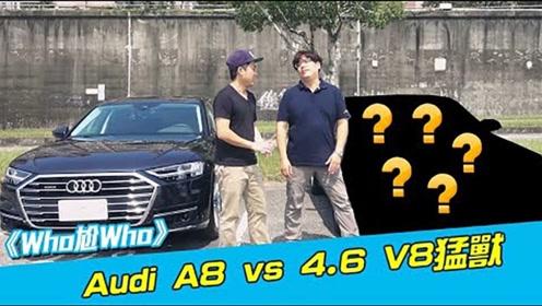 奥迪A8 4.6 V8猛兽