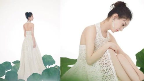芭莎慈善夜大合影刘涛舒淇都往边上靠 赵丽颖金色薄纱礼服最抢镜