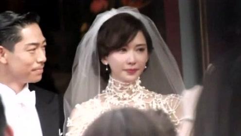 林志玲爸爸婚礼致辞称赞黑泽良平是好郎君 ,志玲姐姐感动落泪