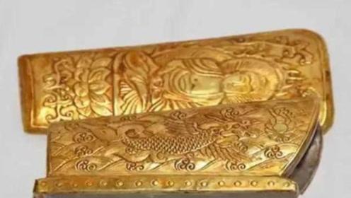 太原发现一黄金棺材,里面有什么东西,连专家都不敢打开