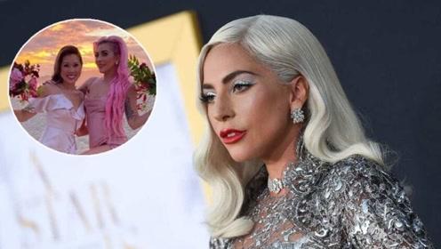 Lady Gaga推出最新粉色长发 惊艳四座