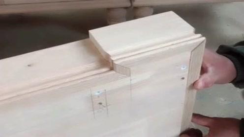 衣柜底盘用这个切割,效果真的很好,木工的好帮手!