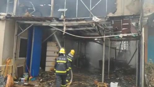 突发!广西南宁一在建工地着火,事故造成2名被困人员死亡