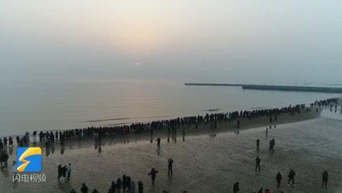 这就是山东丨大美万平口!蓝天、碧海、金沙滩……与大海来场亲密约会