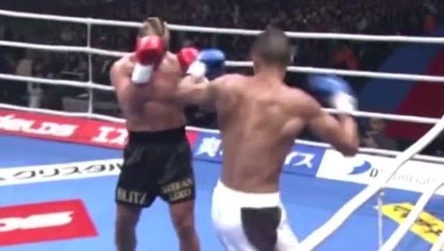 这个转身后高踢腿KO不仅观赏性极强,杀伤力也没得说