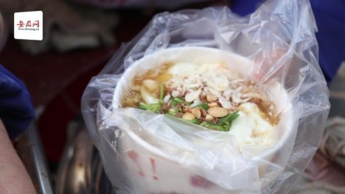 合肥梨花巷的这一碗豆腐脑,感动着这座城